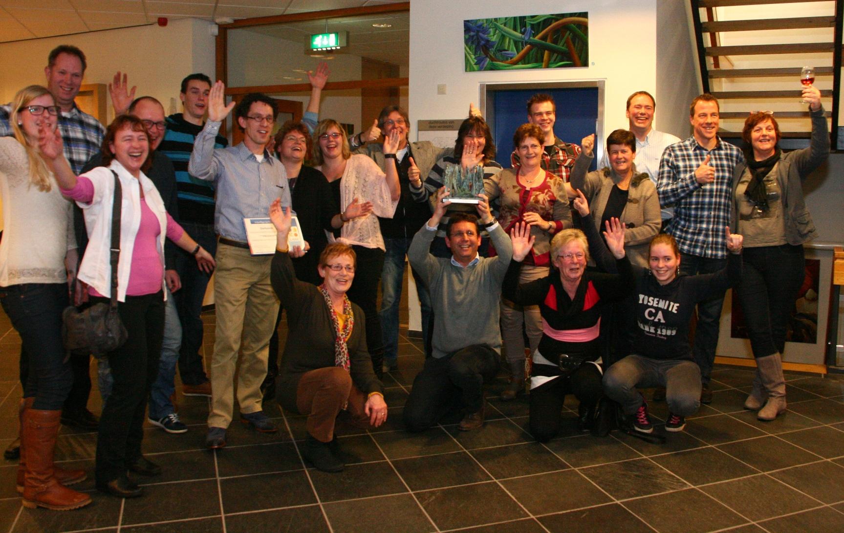 WVL Vrijwilligersprijs 2013